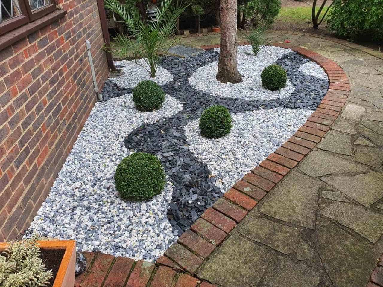 decorative stones laying service Woodford
