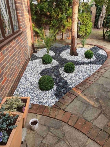 gravel laying Woodford