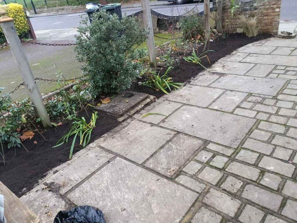 Stepped Raised Beds Installation in Palmers Green N13-14