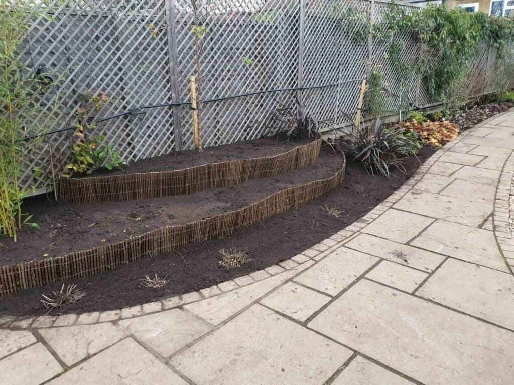 Stepped Raised Beds Installation in Palmers Green N13-16