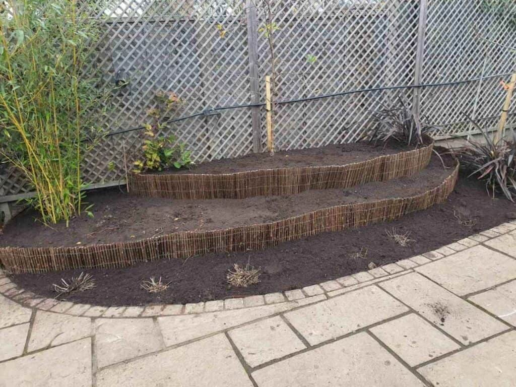 Stepped Raised Beds Installation in Palmers Green N13-17