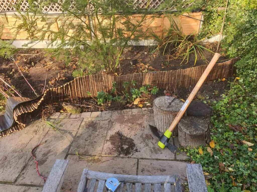 Stepped Raised Beds Installation in Palmers Green N13-2