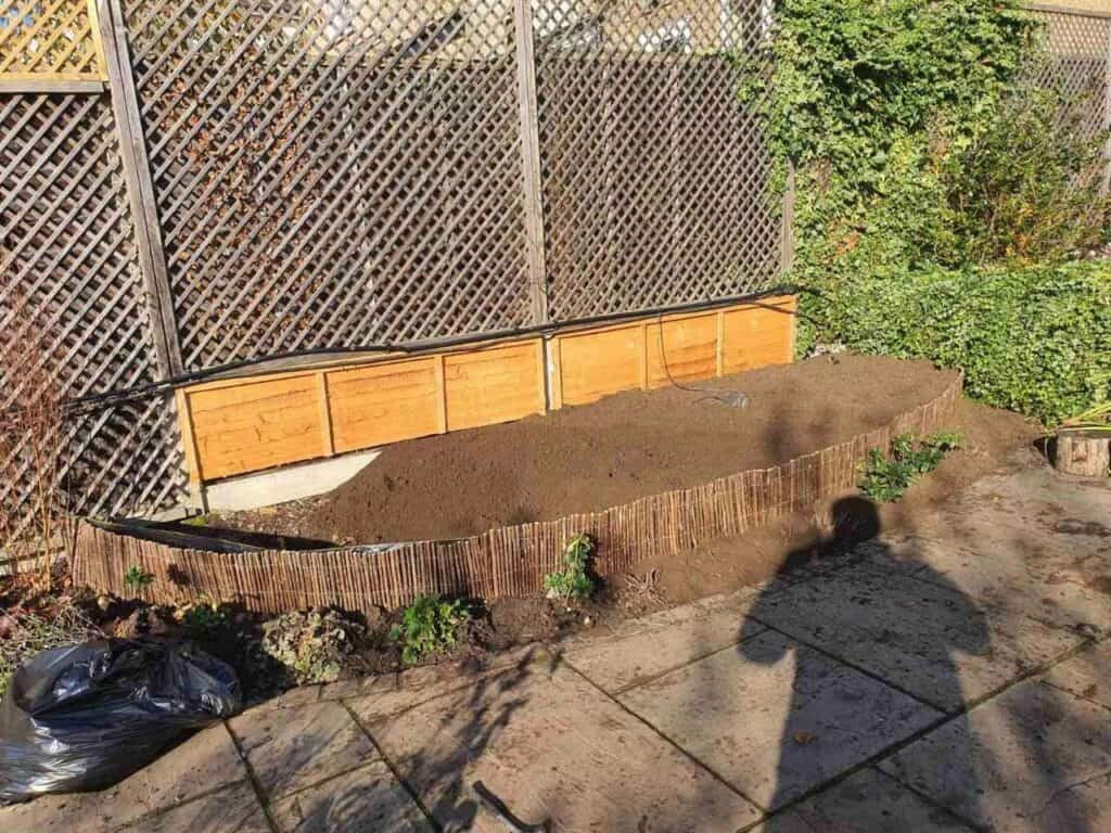 Stepped Raised Beds Installation in Palmers Green N13-4