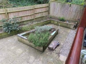 raised bed removal services Hendon