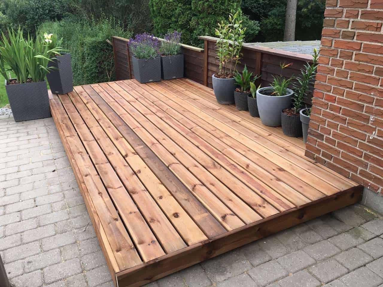 decking installation North London